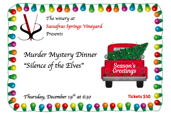 "Murder Mystery Dinner ""Silence of the Elves"""