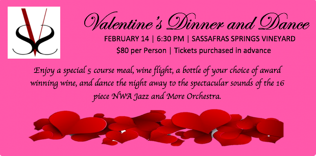 Valentines Dinner and 16 Piece Jazz