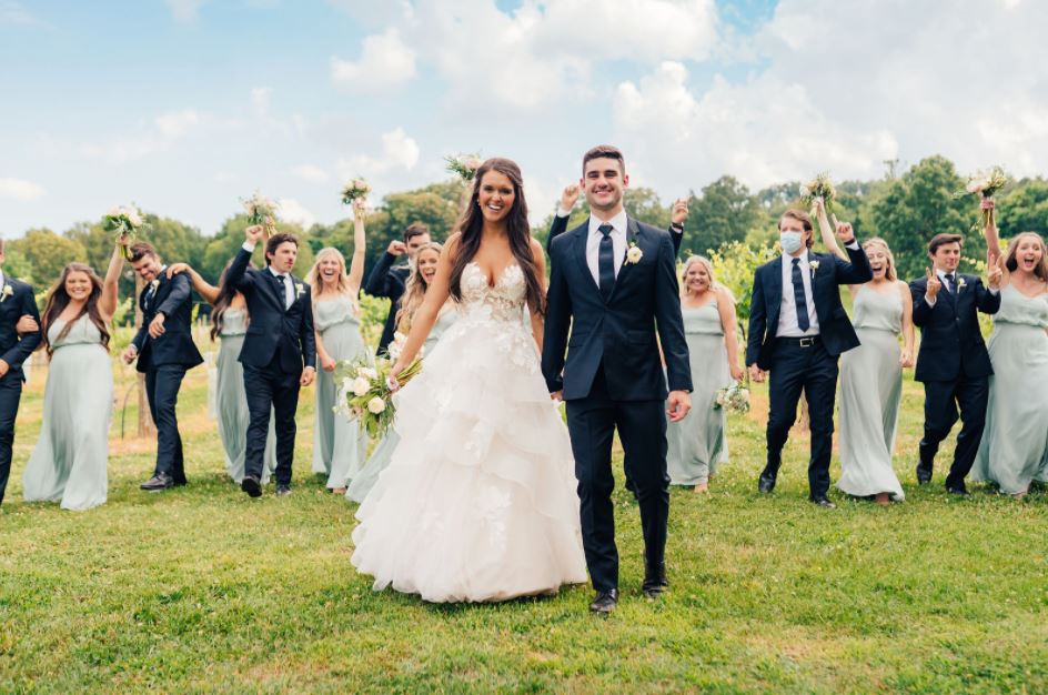 Kerr Wedding At Sassafrass
