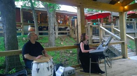 Band: CongaKeyz Jazz Duo